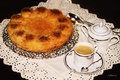 Picture coffee, cakes, Cup, pie