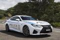 Picture white, Lexus, Police, Lexus, RC F