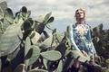 Picture Juju Ivanyuk, girl, cacti