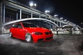 Picture bridge, red, tuning, low, bmw, e92, power, germany, stance
