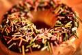 Picture macro, baby, dessert, macro, donut, the sweetness, food, chocolate, food