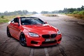 Picture BMW, Red, Coupe