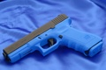 Picture Glock, Background, Canvas, Gun, Austria, Weapons, 17T, Austria, Blue, Weapons, Wallpaper, 17T, Wallpapers, Glock