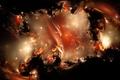 Picture nebula, color, Stars