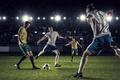 Picture The ball, Sport, Football, Feet, Men