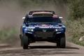 Picture rally, Volkswagen, The front, The hood, Blue, Rally, Sport, Dakar, Dakar, Touareg, SUV, Race