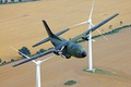 Picture the plane, average, C-160D, military transport