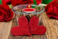 Picture Valentine's day, holiday, candle, hearts, hearts, Valentine's day, candle, a holiday