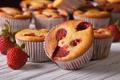 Picture berries, strawberry, cake, dessert, cakes, sweet, sweet, cupcake, cupcake, dessert