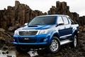 Picture Picup, Blue, Double Cab, Wallpaper, Toyota, Car, Japan, ZA-Spec, Hilux, Pickup, Auto, Toyota, Japan, Auto, ...