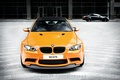 Picture daylight, bmw, BMW, e92, m3 gts, orange, the front, orange, carbon fiber roof