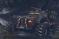 Picture Chaos, Guns, Rockets, Weapons, Gatling Gun, Monster Truck