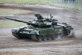 Picture dirt, tank, polygon, T-90