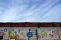 Picture circles, children's Playground, wall