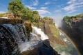 Picture rainbow, waterfall, Victoria, South Africa, nature, Zambia and Zimbabwe