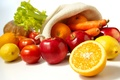 Picture tomatoes, vegetables, fruit, lemons, food, oranges, apples, carrots