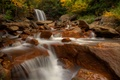 Picture autumn, river, stones, waterfall, West Virginia, West Virginia, Blackwater River, Douglas Falls, falls Douglas, the ...