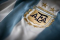 Picture logo, football, Argentina, t-shirt