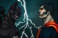 Picture dc comics, Clark Kent, batman, superman, Kal-El, man of steel, bruce wayne, dark knight
