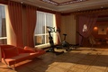 Picture design, style, room, sofa, interior, apartment, the place for sports, trainer, the gym