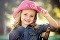 Picture smile, mood, girl, hat