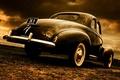 Picture style, 1940, Coupe, Studebaker, retro