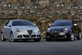 Picture white, black, Alfa romeo, mixed