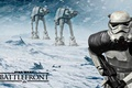 Picture Hoth, Attack, AT-AT, Stormtrooper, star wars battlefront, DICE, Hot, Electronic Arts, game