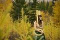 Picture key, Everlasting Light, girl, autumn, forest