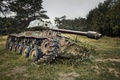 Picture weapons, tank, scrap