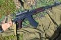 Picture АКС74Н, variants of folding AKS74, Kalashnikov, night, sight, camouflage, 45 mm
