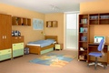 Picture design, style, room, interior, children's