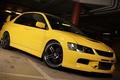 Picture yellow, mitsubishi, lancer, evolution, evo 8