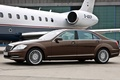 Picture car, machine, S-class, car and plane, Mercedes, plane