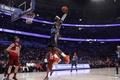 Picture james, basketball, slen dunk, nba all star 2012, basketball, jump