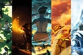 Picture earth, magic, art, Avatar: the Legend of Korr., the air, water, avatar, Times, avatar, The ...