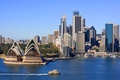 Picture Australia, attraction, the building, nature, Sydney, the city, sea, Opera house, the sky, river, landscape