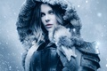 Picture cinema, Kate Beckinsale, wallpaper, girl, Underworld, armor, woman, blue eyes, snow, movie, vampire, hero, film, ...