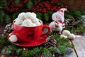 Picture holiday, food, cookies, Christmas, Cup, New year, snowman, Christmas, dessert, food, cup, sweet, New Year, ...