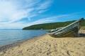 Picture shore, boat, sand