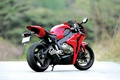 Picture red, honda, Honda, rear view, bike, exhaust pipe, motorcycle, cbr1000rr