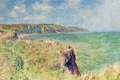 Picture Claude Monet, picture, The edge of a Cliff in Purvile, landscape