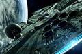 Picture star wars, Falcon, han solo, Han solo, star wars clone, battlefront