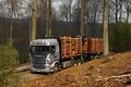 Picture truck, forest, Scania R470, the truck, nature