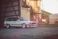 Picture E30, wagon, BMW, white