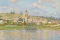 Picture the city, landscape, home, Vétheuil, picture, Claude Monet