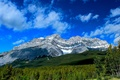 Picture Banff, mountains, Alberta, Canada, Albert, Cascade Mountain, Banff National Park, Canada, forest