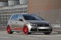 Picture Volkswagen, Red, Golf, Wheels, Schwabenfolia