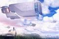 Picture the sky, future, spaceship, machine