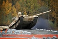 Picture UVZ, Russia, Arms EXPO 2013, Tank, T-90S, T-90, caterpillar, forest